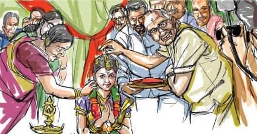 Image result for கிராமத்தில் ஒரு குடும்பம் பாட்டி பேத்தி